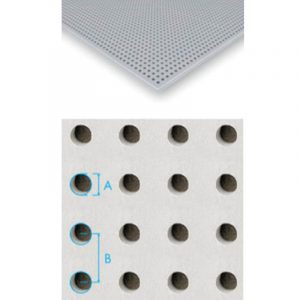 placa de gesso cartonado perfurado