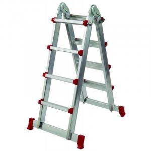 escada multiposicoes aluminio Baybe
